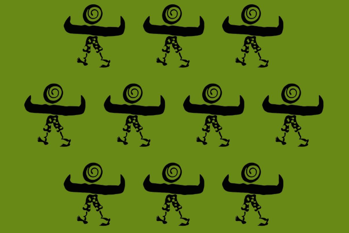 Green buff image